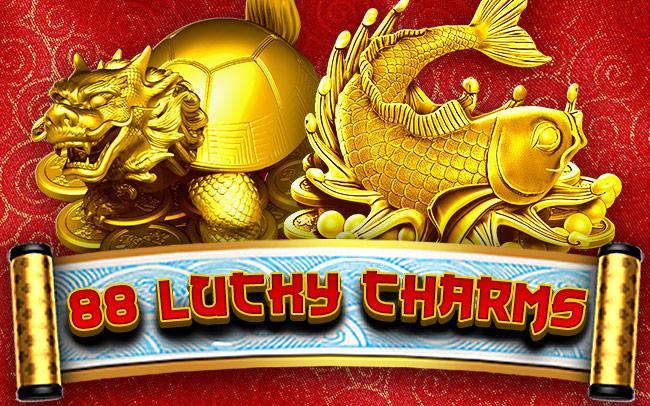 88 Lucky Charms Game Logo