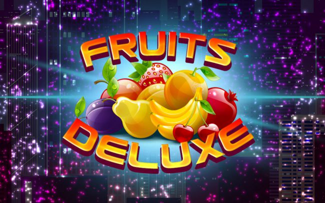 Fruits Deluxe Game Logo