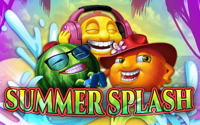 Summer Splash Game Logo