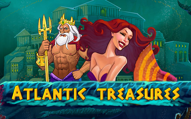 Atlantic Treasures Game Logo