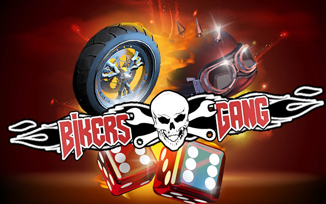 Bikers Gang Game Logo