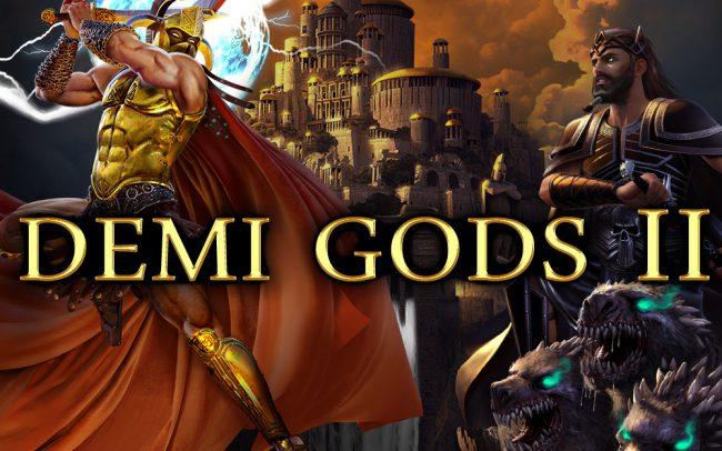 Demi Gods 2 Game Logo
