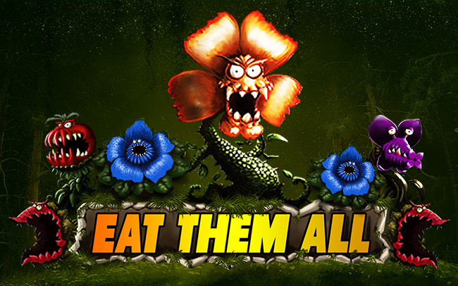 Eat Them All Game Logo