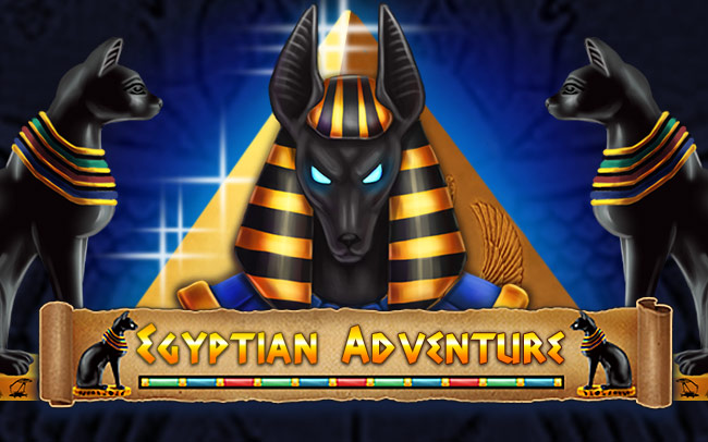 Egyptian Adventure Game Logo