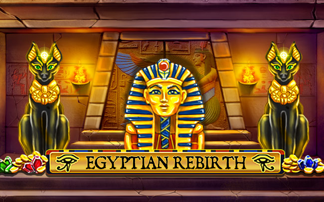 Egyptian Rebirth Game Logo