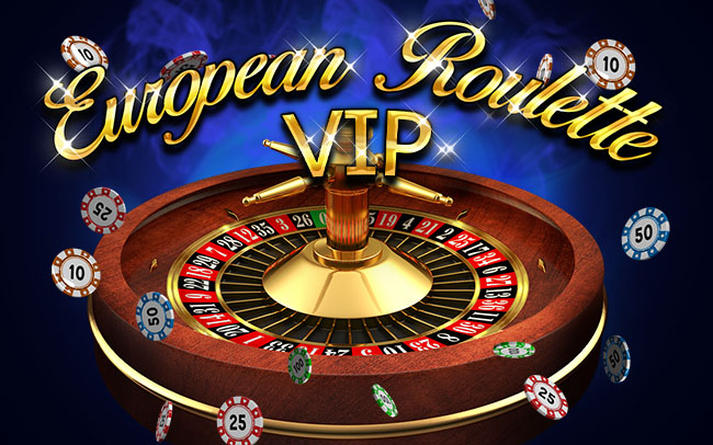 European Roulette VIP Game Logo