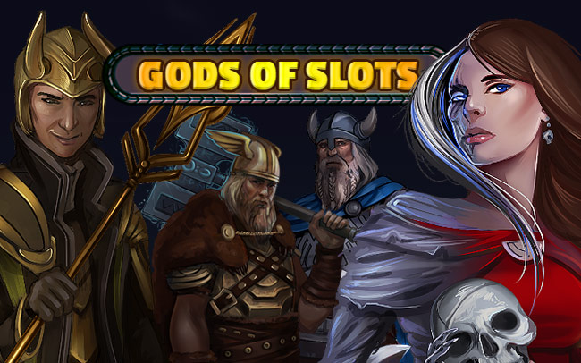 God Of Slots Game Logo