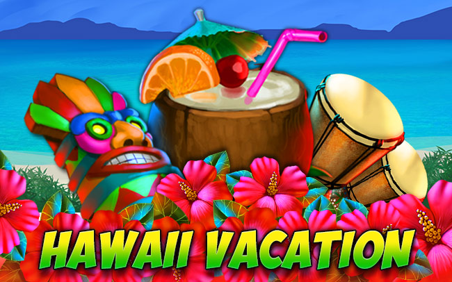 Hawaii Vacation Game Logo