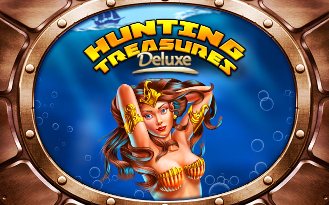 Hunting Treasures Deluxe Game Logo