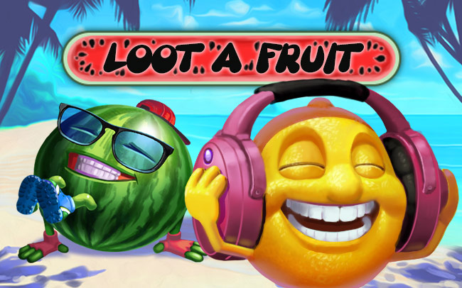 Loot a Fruit Game Logo