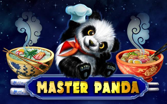 Master Panda Game Logo