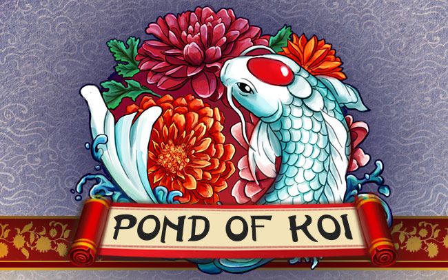 Pond of Koi Game Logo