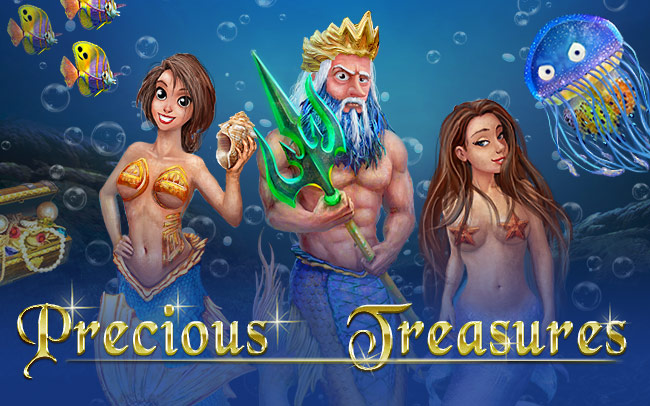 Precious Treasures Game Logo