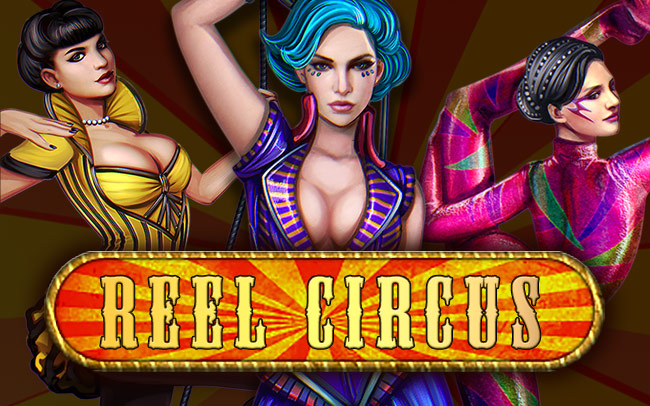 Reel Circus Game Logo