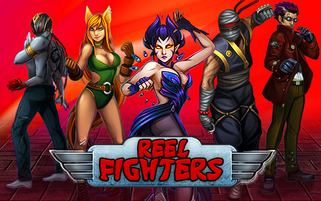 Reel Fighters Game Logo