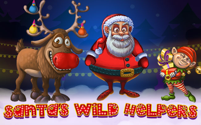Santa Wild Helpers Game Logo