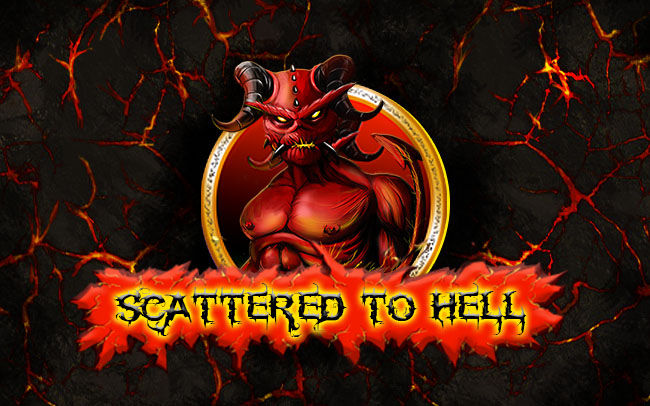 Scattered to hell Game Logo