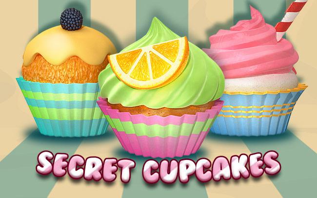 Secret Cupcakes Game Logo