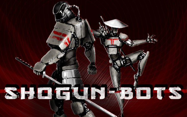Shogun Bots Game Logo