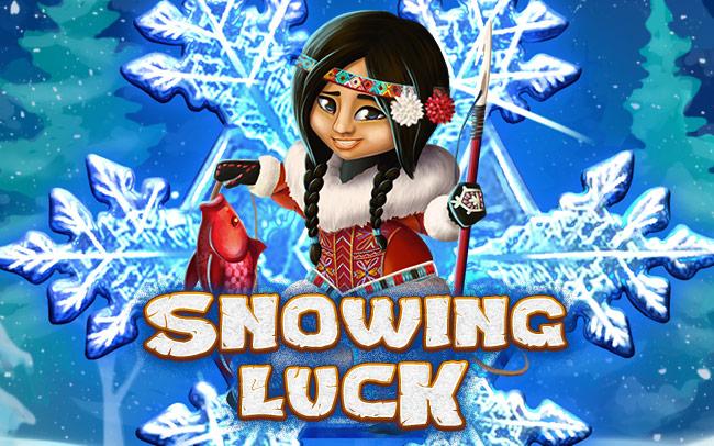 Snowing Luck Game Logo