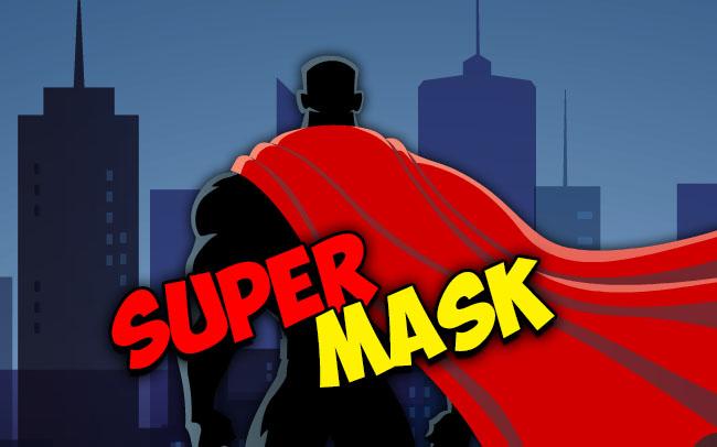 Super Mask Game Logo