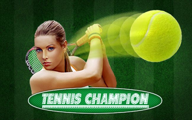 Tennis Champions Game Logo