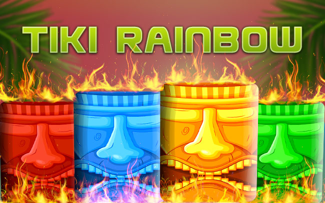 Tiki Rainbow Game Logo