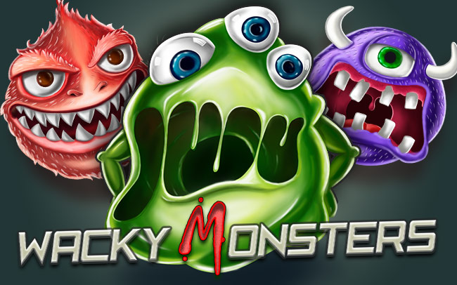 Wacky Monsters Game Logo