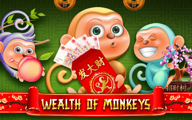 Wealth Of Monkeys Game Logo