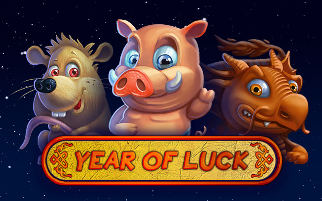 Year of Luck Game Logo