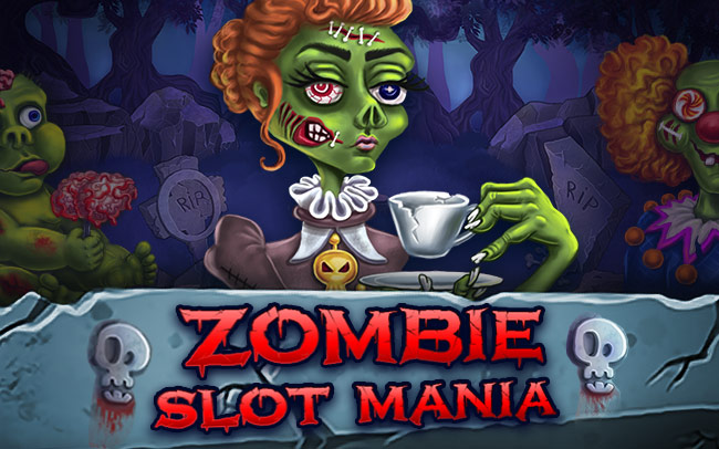 Zombie Slot Mania Game Logo