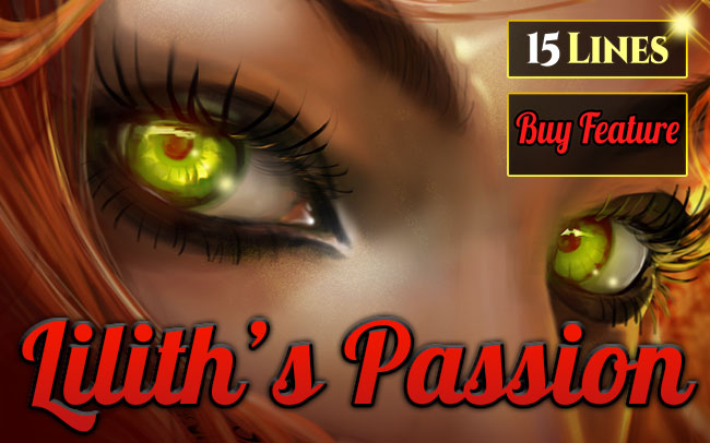 Lilith's Passion 15 Lines Series Game Logo