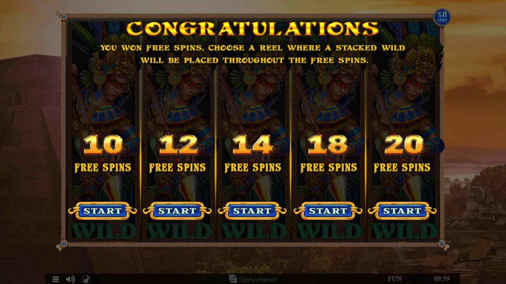 Free Spins Selection