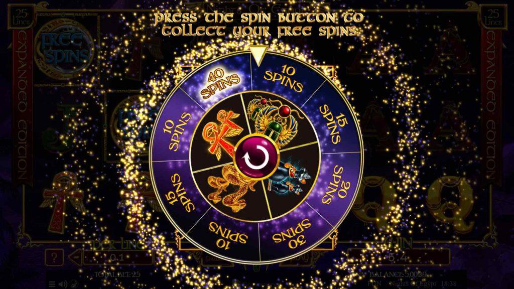 Free Spins Wheel