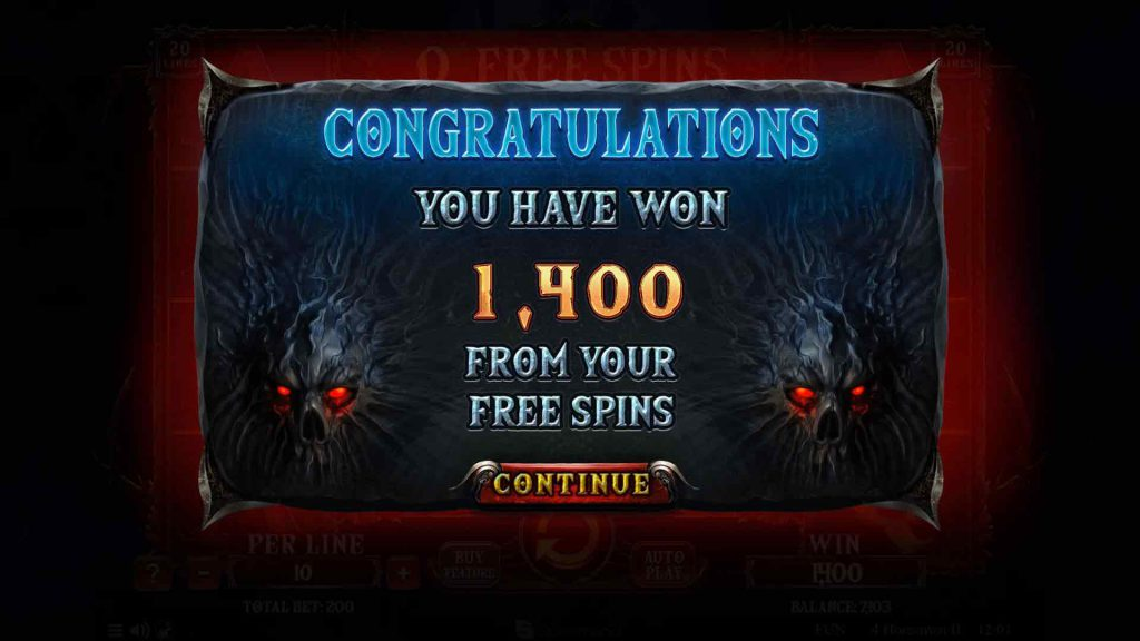 Free Spins Summary