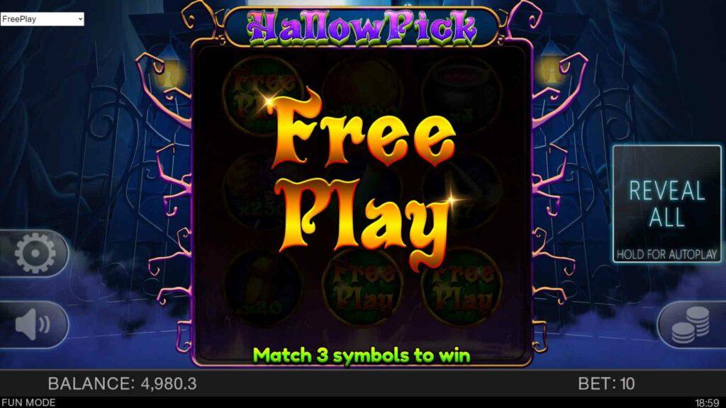 Free Play Splash