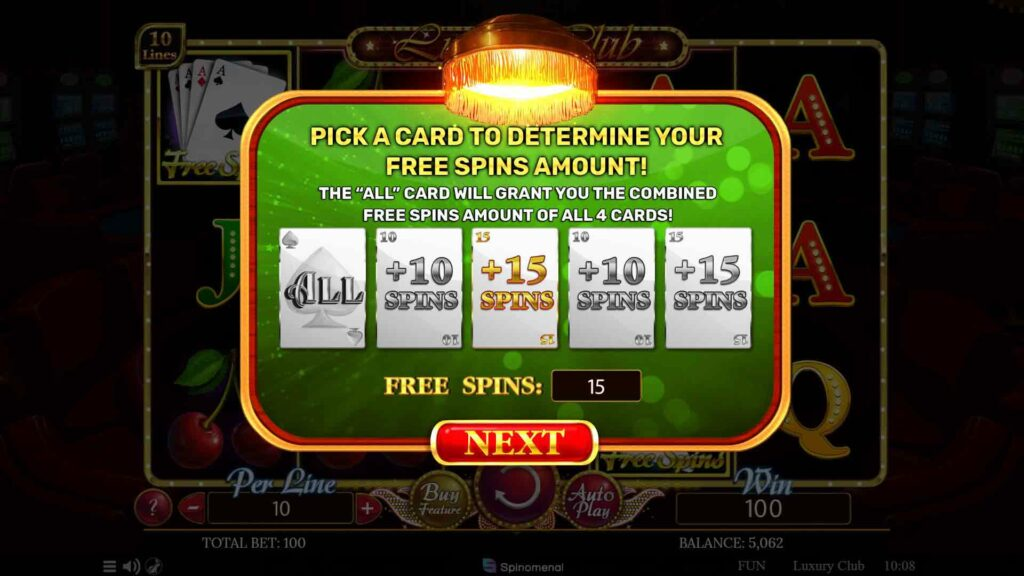 Free Spins Pick