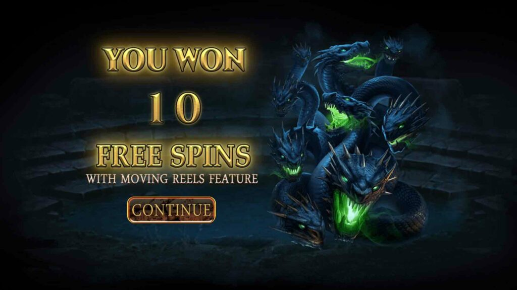 Free Spins Splash - Moving Reels