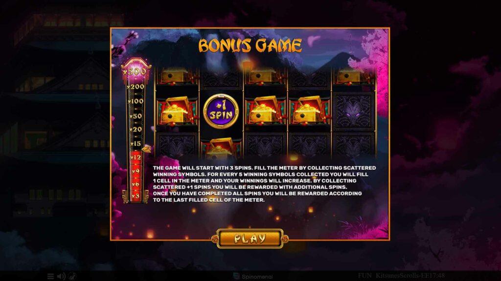 Bonus Game Splash