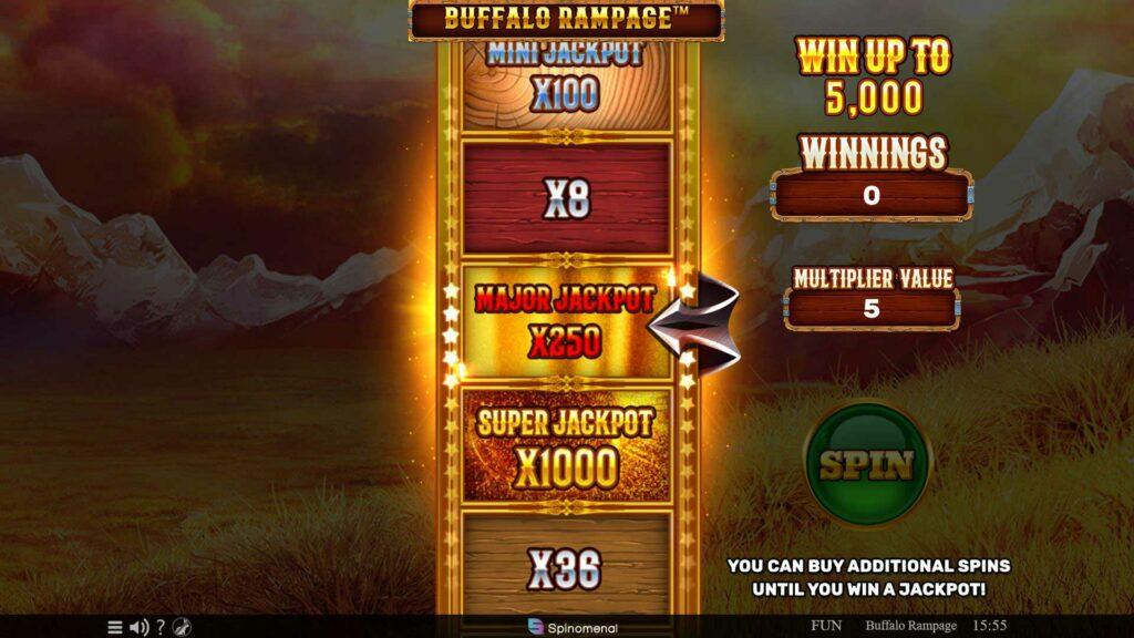 Bonus game X250
