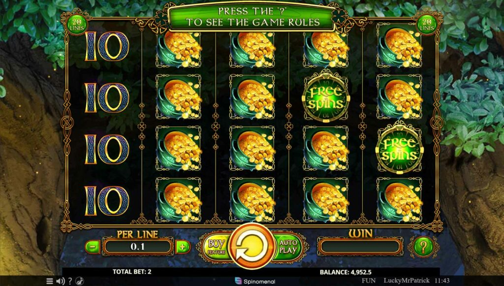 Free Spins hit