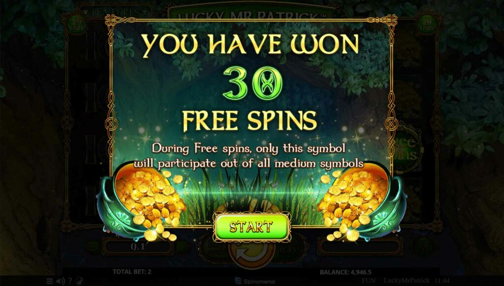 Free Spins summary