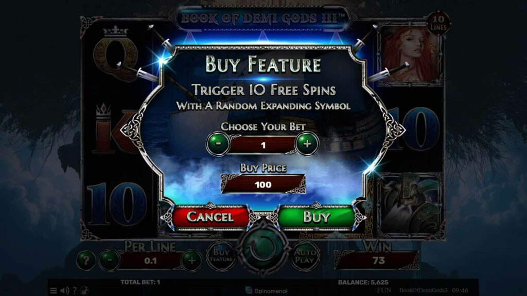Buy Feature