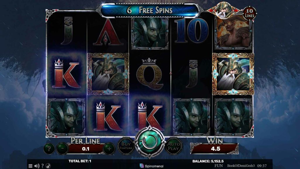 6 Free Spins