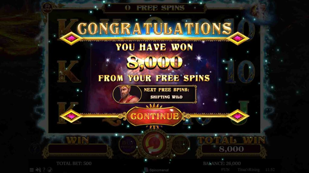 Free Spins Win